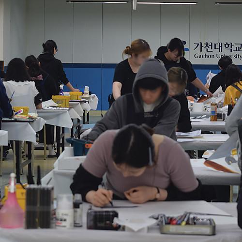 2020학년도 다군 실기고사 현장_ 가천대학교(글로벌)