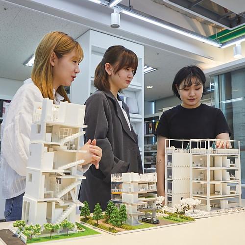 한양여자대학교 디자인계열 대학탐방
